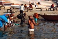 Pilgerfahrt in Indien Lizenzfreie Stockfotos