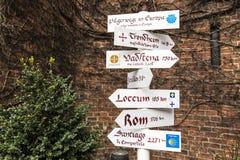 Pilgerfahrtwege Lizenzfreies Stockfoto