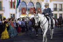 Pilgimage in Dos Hermanas Seville 11 Royalty-vrije Stock Afbeeldingen