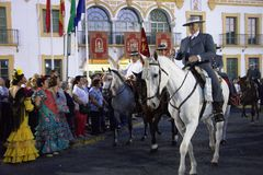 Pilgimage em Dos Hermanas Seville 11 Imagens de Stock Royalty Free