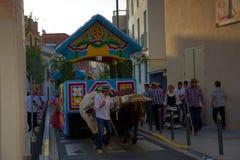 Pilgimage em Dos Hermanas Seville 85 Fotografia de Stock