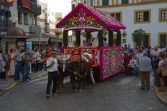 Pilgimage i Dos Hermanas Seville 46 Royaltyfri Fotografi