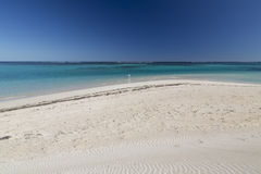 Pilgramana海滩 库存图片