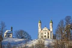 Pilgriame church in Bad Toelz Stock Photo