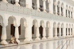 Pilgrim in Amritsar Royalty Free Stock Images