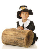 Pilgrim Boy Stock Image