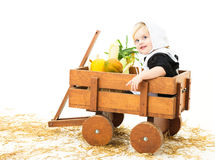 Pilgrim Child Stock Photography