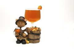 Pilgrim Drink stock photo