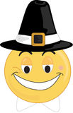 Pilgrim Face. A Smiley type pilgrim face Royalty Free Stock Photos