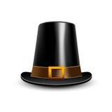 Pilgrim hat. Thanksgiving symbol Royalty Free Stock Photography