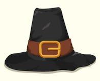 Pilgrim Hat, Vector Illustration Stock Photos