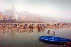 Pilgrim in India Stock Image