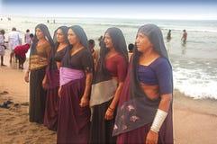 Pilgrim in India Stock Photography
