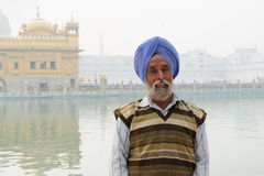 Pilgrim in India Stock Photos