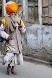Pilgrim in India Royalty Free Stock Photo