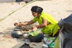 Pilgrim for the Megha Mela of Konark Royalty Free Stock Photos