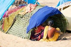 Pilgrim for the Megha Mela of Konark Royalty Free Stock Photography