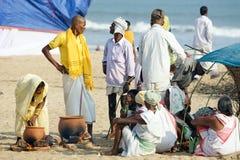Pilgrim for the Megha Mela of Konark Stock Photography