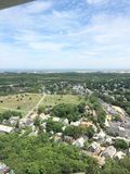 Pilgrim Monument: Province Town, MA Stock Photography