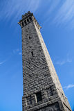 Pilgrim Monument Tower Angle Royalty Free Stock Photography