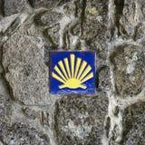 Pilgrim's Shell Royalty Free Stock Photography