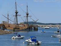 Pilgrim ship Mayflower Stock Photos