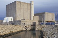 Pilgrim Station Nuclear Power Plant, MA Royalty Free Stock Photography