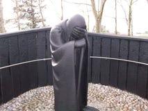 Pilgrim. Taken in Clonmacnoise, stone pilgrim stock images
