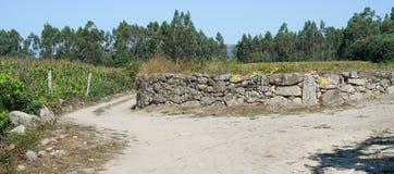 Pilgrim trail, Camino de Santiago, Portugal Royalty Free Stock Image