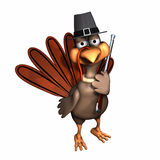 Pilgrim Turkey - Isolated Royalty Free Stock Photo