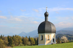 Pilgrimage chapel wilparting, germany Royalty Free Stock Photo