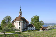 Pilgrimage Church Birnau on Lake Constance Stock Images