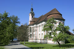 Pilgrimage Church Birnau on Lake Constance Stock Photo