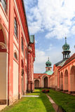 Pilgrimage Church of Maria Kulm in the czech republic Stock Images
