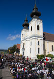 Pilgrimage Church Maria Taferl Royalty Free Stock Photography