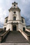Pilgrimage Church and monastery in Krtiny Stock Image