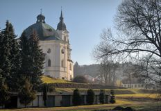 Pilgrimage Church of the Name of Virgin Mary Royalty Free Stock Photo