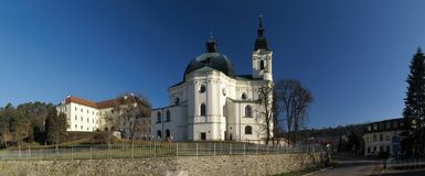 Pilgrimage Church of the Name of Virgin Mary Royalty Free Stock Photos