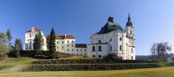 Pilgrimage Church of the Name of Virgin Mary Stock Photo