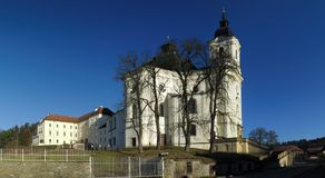 Pilgrimage Church of the Name of Virgin Mary Stock Image