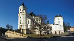Pilgrimage Church of the Name of Virgin Mary Stock Photos