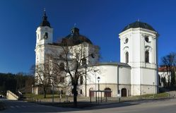 Pilgrimage Church of the Name of Virgin Mary Royalty Free Stock Image