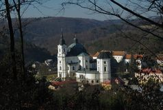 Pilgrimage Church of the Name of Virgin Mary Stock Images