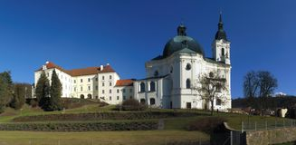 Pilgrimage Church of the Name of Virgin Mary Royalty Free Stock Images