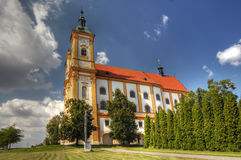 Pilgrimage Church of the Purification of the Virgin Mary Royalty Free Stock Images