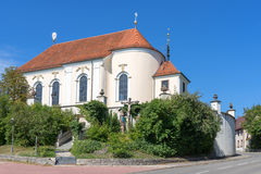 Pilgrimage church St. Anna in Haigerloch Royalty Free Stock Photo