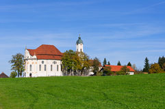 Pilgrimage Church of Wies Royalty Free Stock Photos