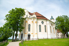 Pilgrimage Church of Wies, Bavaria, Germany. Royalty Free Stock Photography