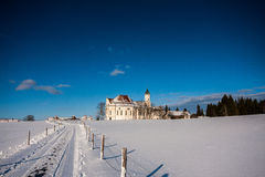 Pilgrimage Church of Wies Royalty Free Stock Photography