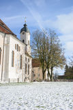 The Pilgrimage Church of Wies (Wieskirche) Country church in Bavaria Stock Photography